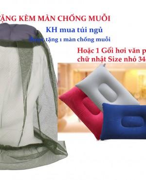 KM tặng kèm màn chống muỗi khi mua túi ngủ tại cửa hàng