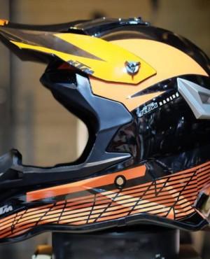 Nón Bảo Hiểm FullFace Cào Cào Giá Rẻ KTM Bóng