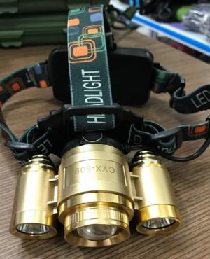 Đèn Pin Đội Đầu LED Siêu Sáng CYX-809
