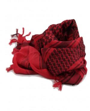 Khăn rằn ả rập- đỏ (Loại 2)
