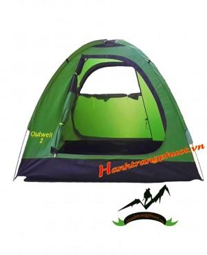 Lều 2 người Outwell (xanh lá)