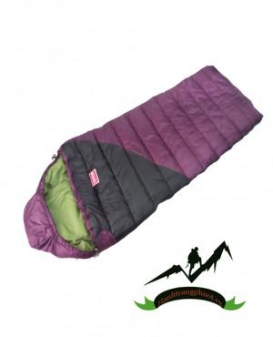 Túi ngủ đông TND-02 ( tím- đen)