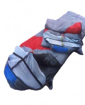 Túi ngủ chống muỗi TN xám- đỏ