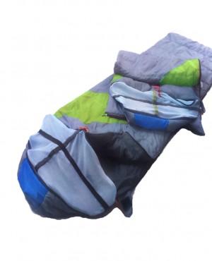 Túi ngủ chống muỗi TN xám- xanh lá