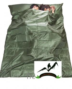 Túi ngủ lụa cao cấp loại 1 (đôi) 100% silk