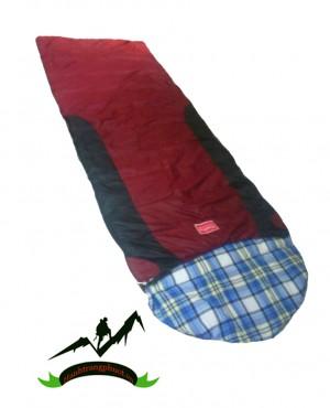 Túi ngủ văn phòng 01 (tím- đỏ)