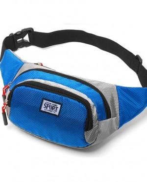 Túi bao tử Sport- xanh dương