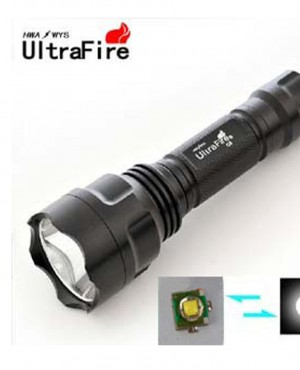Đèn pin UltraFire C8 Led Cree Q5