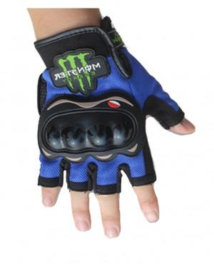 Găng tay monster cụt ngón- 02 (xanh dương)