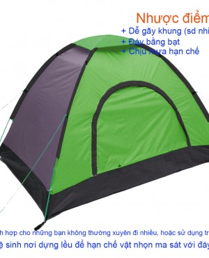 Lều cắm trại 2 người LT-01