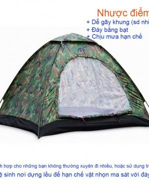 Lều cắm trại 2 người LT-02