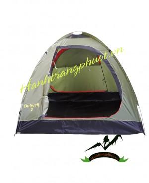 Lều 2 người Outwell (xám xanh)