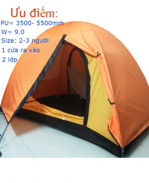 Lều 2 người 2 lớp Mountain EX (Form 1 cửa chính)