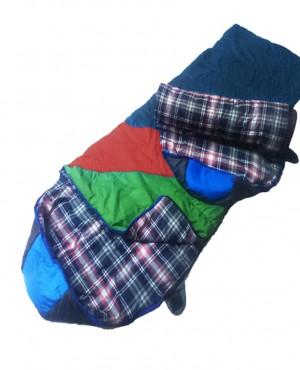 Túi ngủ văn phòng Cotton VP-04 xanh dương