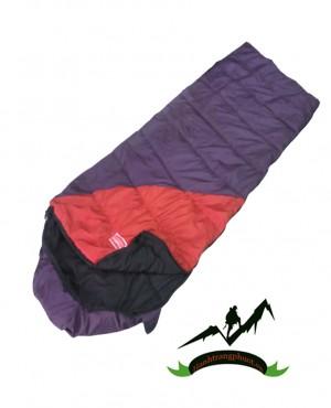 Túi ngủ đa năng A1 (tím- đỏ)